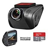 Acumen FHD 1080p Dash Cam, Car DVR Wide Angle Vehicle Dashboard Camera Recorder with Sony Exmor Sensor WDR Loop Recording G-Sensor, 16GB Memory Card Included