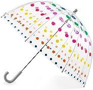 Totes by Totes Kid's Clear Bubble Umbrella Umbrella,