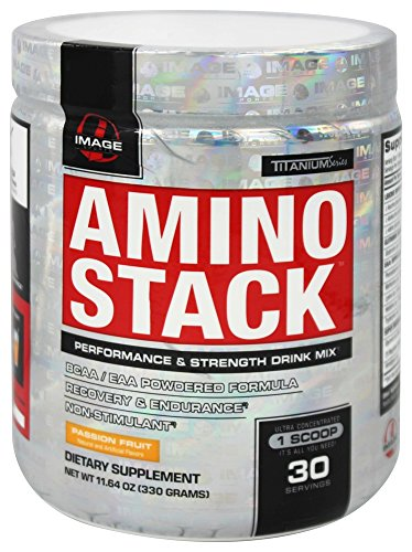 Image Sports - Amino Stack Performance & Strength Drink Mix Passion Fruit (Performance Stack)