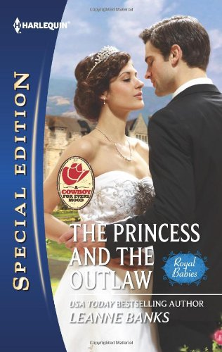 book cover of The Princess and the Outlaw