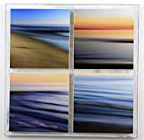 Water Abstracts 4 Piece Panel, Seascapes