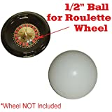 Ceramic Casino Style Replacement Roulette Ball (Pill)