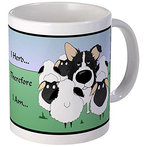 - CafePress Border Collie - I Herd Mug Unique Coffee Mug, Coffee Cup