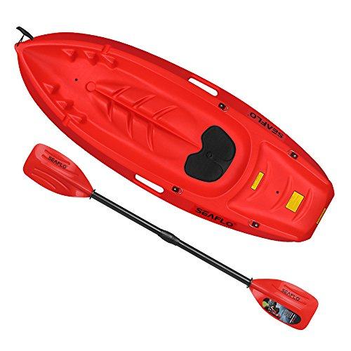 Seaflo-Youth-Kids-71-Lightweight-Sit-on-Top-Single-Kayak-Boat-Canoe