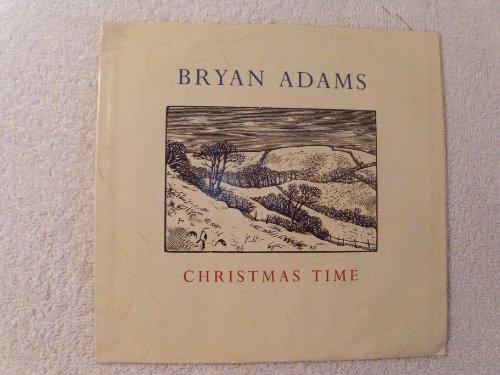 bryan-adams-christmas-time-reggae-christmas-45-w-picture-sleeve