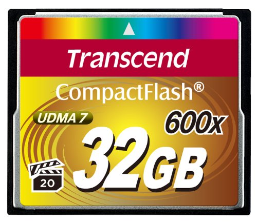 Transcend 32 GB Compact Flash Card 600X by Transcend (Image #2)