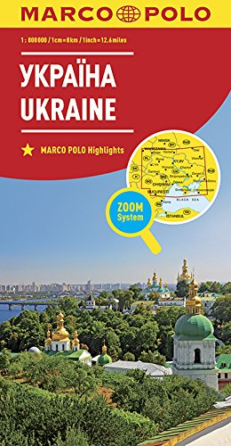 MARCO POLO Länderkarte Ukraine1:800 000 (MARCO POLO Länderkarten)