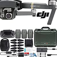 DJI Mavic Pro Fly More Combo with Custom Nanuk Waterproof Hard Case (Olive)