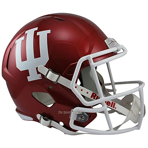 Indiana Hoosiers Officially Licensed NCAA Speed Full Size Replica Football Helmet by Riddell