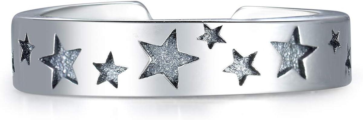 Guzhile Mode Bijoux Argent Sterling 925/r/églable Pouce Anneaux /étoile /éternit/é Superbe Doigt//Toe Bagues pour Homme et Femme