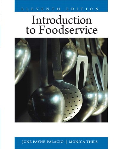 Introduction to Foodservice (11th Edition)
