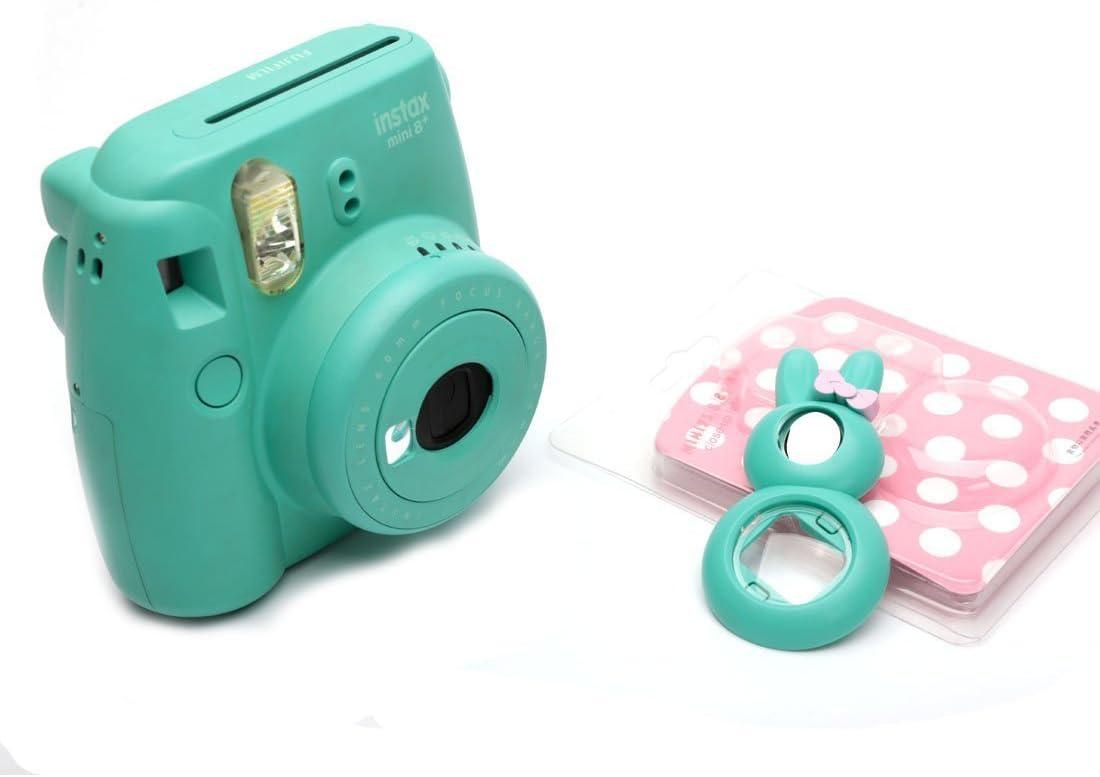 Black Bunny Cute Bunny Selfie and Close Up Lens Shot Mirror for Fujifilm Instax Mini 8 Mini 9 Polaroid PIC-300 Hellokitty Instant Camera