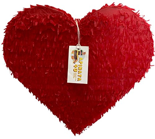 Red Heart Pinata -