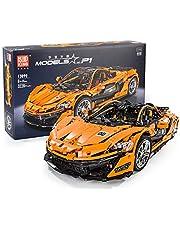 Building Block Model Kit, Building Block Toy DIY Assembly Car Model 1: 8 Car Model (3228Pcs)