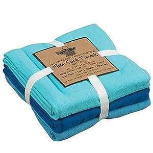 Kay dee designs coastal flour sack towels set of 3 home kitchen Kay dee designs kitchen towels