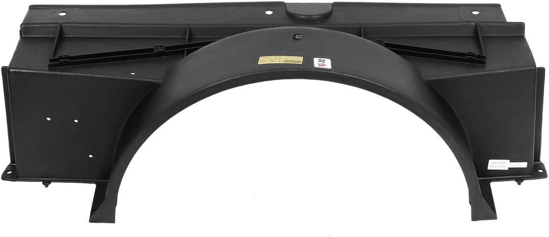 DNA Motoring OEM-RF-0149 GM3110126 Factory Style Radiator Fan Upper Fan Shroud,Black