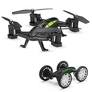 TOYEN GordVE GV602 RC Flying Car Quadcopter Car 4WD Remote Control Flying Vehicles