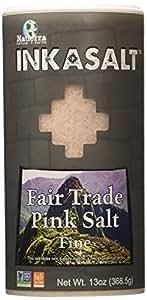Natierra Inkasalt Salt Products, Pink Shaker, 13 Ounce