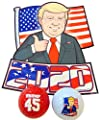 Donald Trump 2020 Gift Set with Car Magnet and Novelty Golf Balls by Westman Works