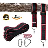 Tree swing hanging kit, Tree Swing Straps for Outdoor, 10ft Strap, Holds 3150 lbs(SGS Certified), Heavy Duty Carabiner Lock Screws, Genuine Quality | Easy & Efficient Now, it will be a more easy and safe way to install this timeless classic playt...