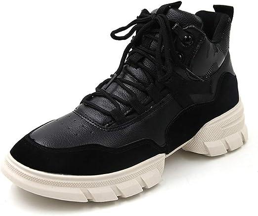 Zapatos de Mujer High-Top Plataforma Gruesa Zapatillas para Correr ...