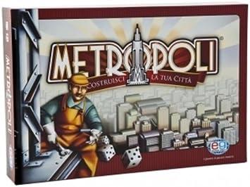 STARTRADE Metropoli - Juego de Mesa (en Italiano) [Importado de Italia]: Amazon.es: Juguetes y juegos