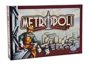 Metropoli - Juego de mesa (en italiano) [Importado de Italia]