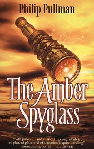 Image result for The Amber Spyglass by Philip Pullman