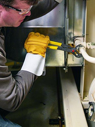 Quick-Adjust Klaw Pump Pliers, 10-Inch Klein Tools D504-10B by Klein Tools (Image #2)