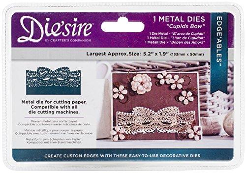 Die'sire DS-EDG-CBOW Thin Metal Die, Silver by Die'Sire