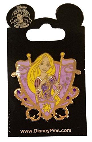 WDW Trading Pin - Princess Jeweled Crest - Rapunzel