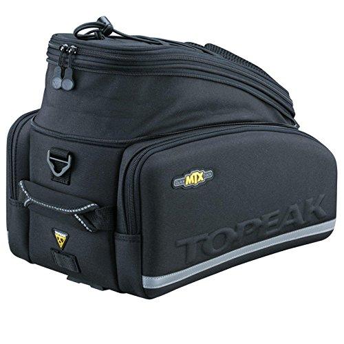 Topeak Rahmentasche MTX TurnkBag DX Gepäckträgertasche, schwarz, 36 x 25 x 29 cm, 12.3 Liter, TT9633B