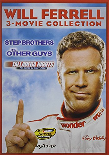 Will Ferrell 3-Movie Collection: The Other Guys / Step Brothers / Talladega Nights: The Ballad of Ricky Bobby from Sony Pictures