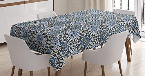 Arabian-Decor-Tablecloth-by-Ambesonne-Retro-Style-Arabesque-Motifs-with-Mosaic-Ceramic-Mosque-Traditional-Culture-Print-Dining-Room-Kitchen-Rectangular-Table-Cover