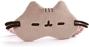 "GUND Pusheen Cat Plush Stuffed Animal Sleep Mask, Gray, 8"""