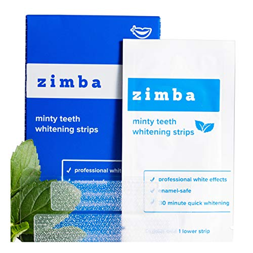 ZIMBA minty teeth is the best Teeth Whitening Strips? Our review at totalbeauty.com uncovers all pros and cons.