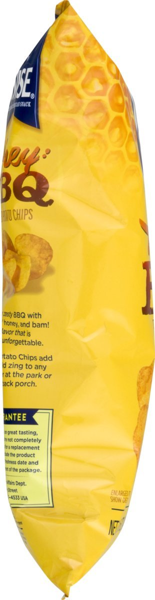 Wise Alimentos Miel BBQ patatas chips 8,75 oz. Bolsa: Amazon ...