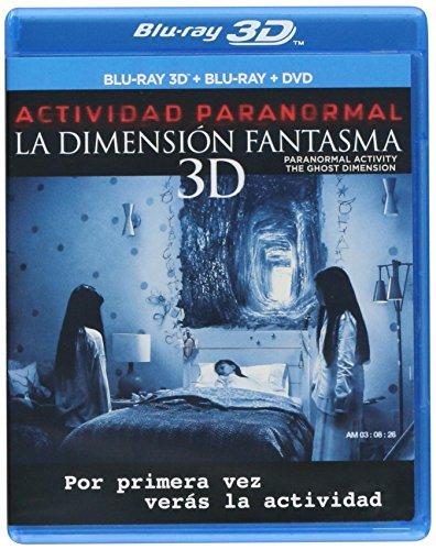 Actividad Paranormal: La Dimensión Fantasma Blu-ray 3D + Blu-Ray + DVD