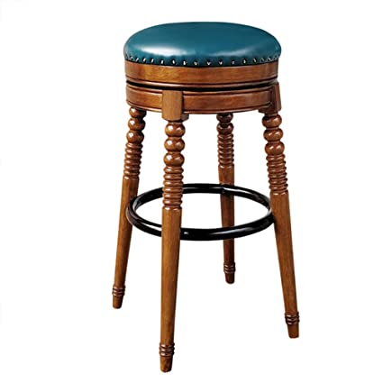 Amazon.com - Dining Chairs Seat Chair Bar Counter Solid Wood ...