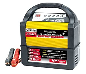 Vector VEC1093 Smart Battery Charger (2/10/20/40/100 Amp)