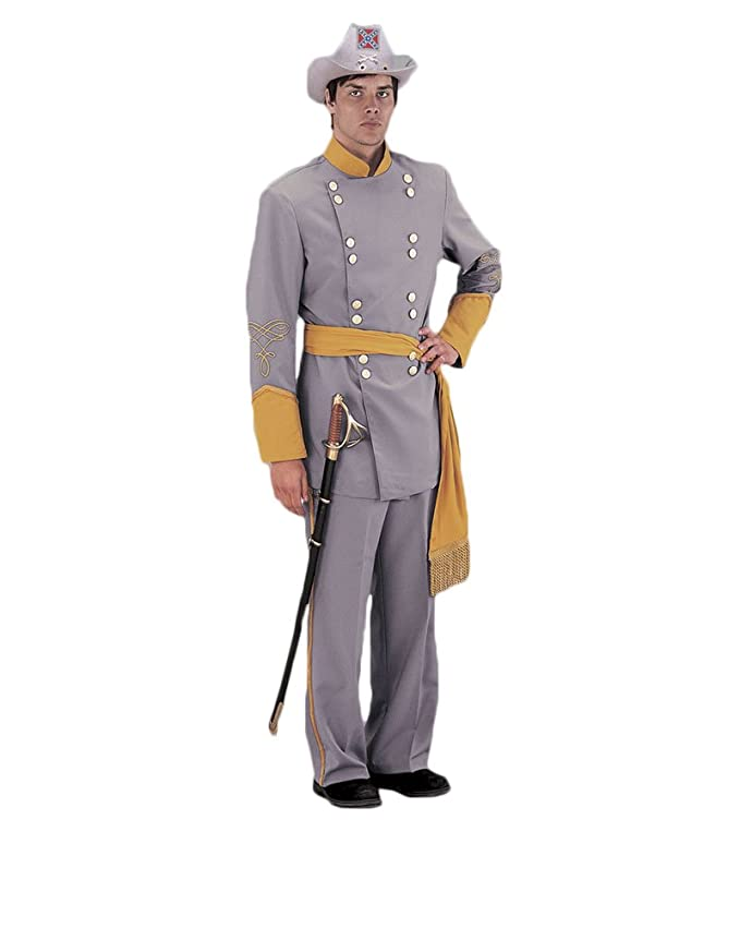 Vintage Men's Costumes – 1920s, 1930s, 1940s, 1950s, 1960s Tabis Characters Mens Civil War Confederate Officer Theatrical Costume $259.99 AT vintagedancer.com