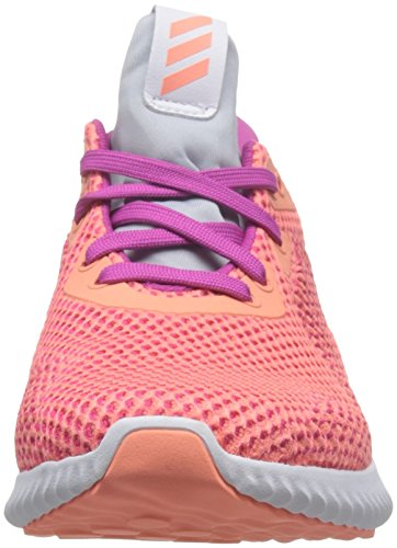 adidas Alphabounce J, Zapatillas de Deporte Unisex Niños, Varios Colores (Rosa-(Roscos/Brisol/Gritra), 38 EU