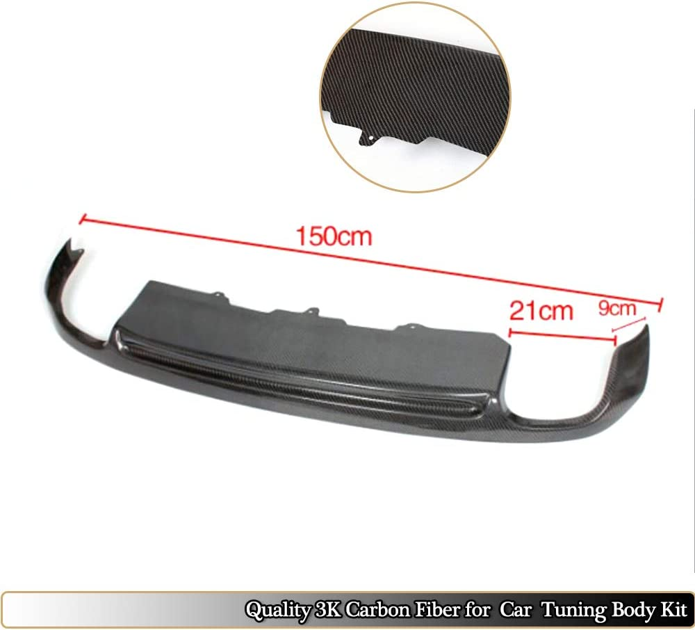 PU Diffuser Without bright streaks MCARCAR KIT For Audi A5 Coupe Non-Sline 2008 2009 2010 2011 Factory CNC Moulding Top Fit Rear Bumper Lip Diffuser Spoiler