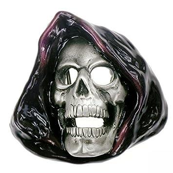 couleurs harmonieuses extrêmement unique 100% authentifié Boucle faucheuse , crâne , crâne de boucle de ceinture ...