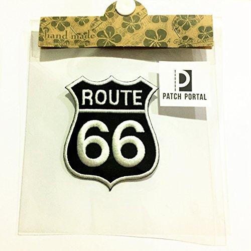 Patch Portal Black Route 66 Sign Decor 3
