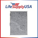 2 Pack Replacement Range Hood Charcoal Filter fits Whirlpool W10386873 UXT5236BDS by LifeSupplyUSA