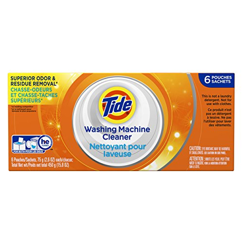 Tide Washing Machine Cleaner Detergent Carton, 6 Count