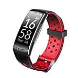 Auntwhale Z11C Colorful 0.96'' OLED Screen IP68 Waterproof Smart Bracelet With Continuous Heart Rate Monitoring & Sleep Monitoring & Step Counter Blue-tooth Sports Fitness Bracelet