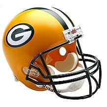 Riddell NFL Green Bay Packers Deluxe Replica Football Helmet