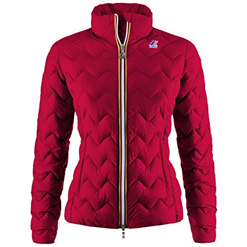 K-Way VIOLETTE LIGHT THERMO AZURE Red
